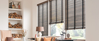 Finish off a room with beautiful window fashions!
